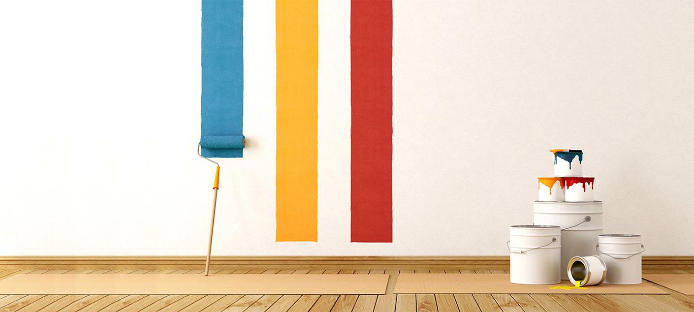 Фасадные и интерьерные краски